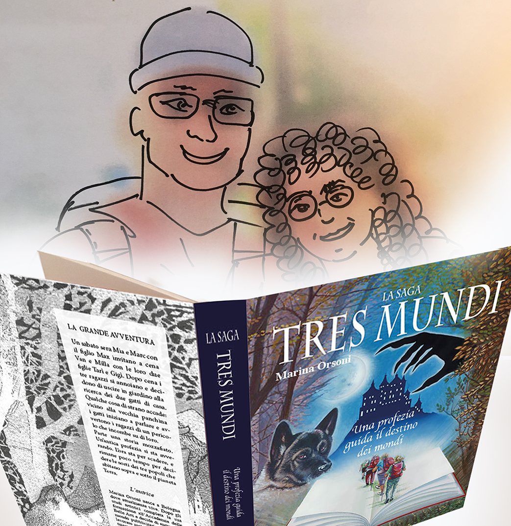Tita Coni e libro x wordpress